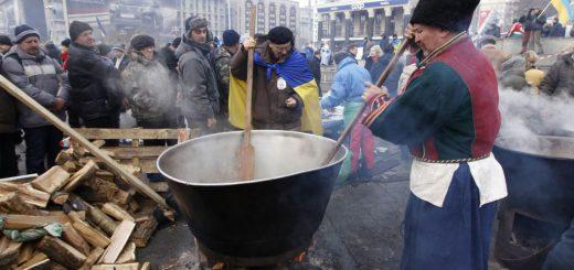 борщ на Майдане
