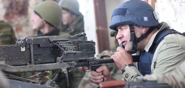 Михайло Пореченков у Донецькому аеропорту